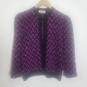 {St. John} for Neiman Marcus Vintage Cardigan Sz S
